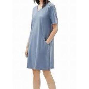 Eileen Fisher cotton jersey pocket shift dress 🎀